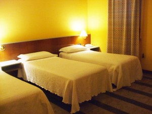 Le camere dell'Hotel Quadrifoglio